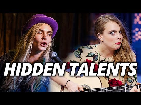 Cara Delevingne's Hidden Talents