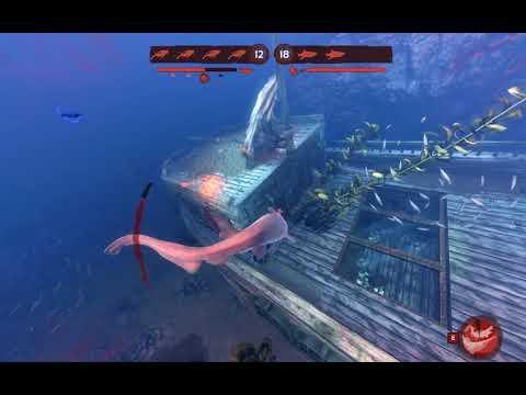Depth - Goblin shark gameplay