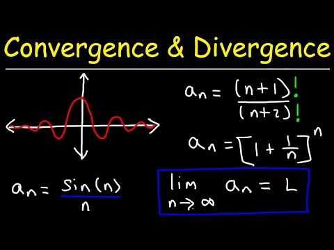 Converging and Diverging Sequences Using Limits - Practice Problems