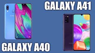 Смартфон Samsung Galaxy A41 vs Galaxy A40. Что изменилось!?