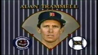 1984 ALCS game 3 Kansas City Royals at Detroit Tigers  PART 1