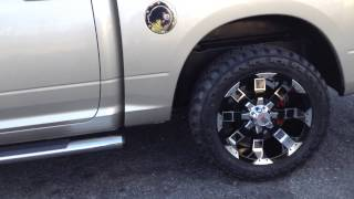 "RimTyme of Charlotte Rolls out a Dodge Ram on 20"" RBP 95R wheels and 285/55R20 Amp tires Thumbnail"