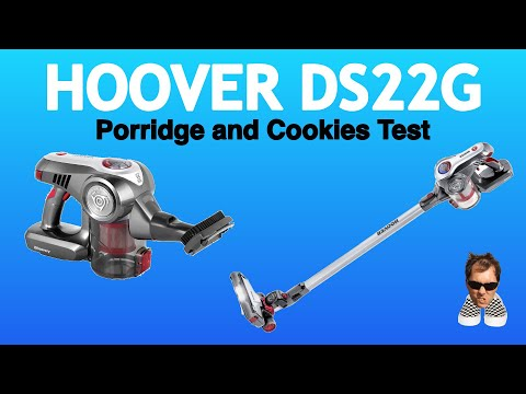 HOOVER Discovery DS22G TEST Porridge and Cookies