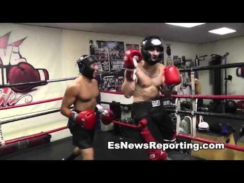 boxing sparring for first time – esnews boxing