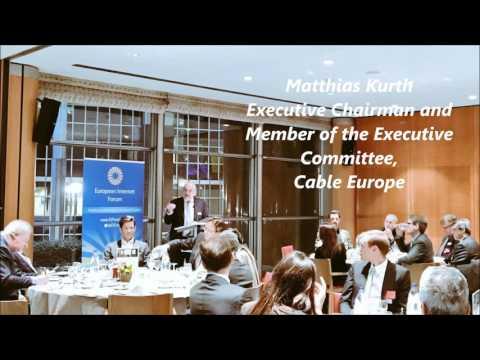 Matthias Kurth, Cable Europe, on Media Convergence
