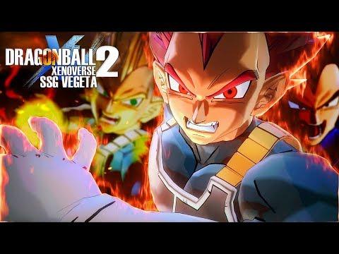 MY NEW FAVORITE CHARACTER! SSG Vegeta • Dragon Ball Xenoverse 2