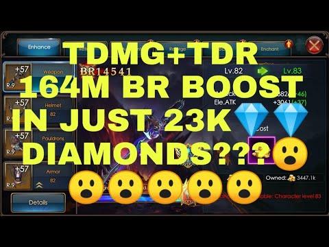 Legacy Of Discord-TDMG+TDR Spend 23k Diamonds 164M Boost . RARE ATTRIBUTE BOOST