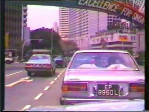 Singapore Streets 1987