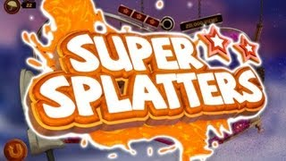 Let's Play Super Splatters PC - SPLAT ALL THE THINGS! - Gameplay / First Impression