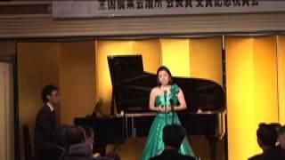 2012/12/2 @某ホテル 花は咲く ソプラノ 紺野さくら http://ameblo.jp/s...