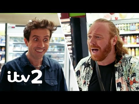 Nick Grimshaw's Awkward Encounter with David Beckham! | Shopping With Keith Lemon