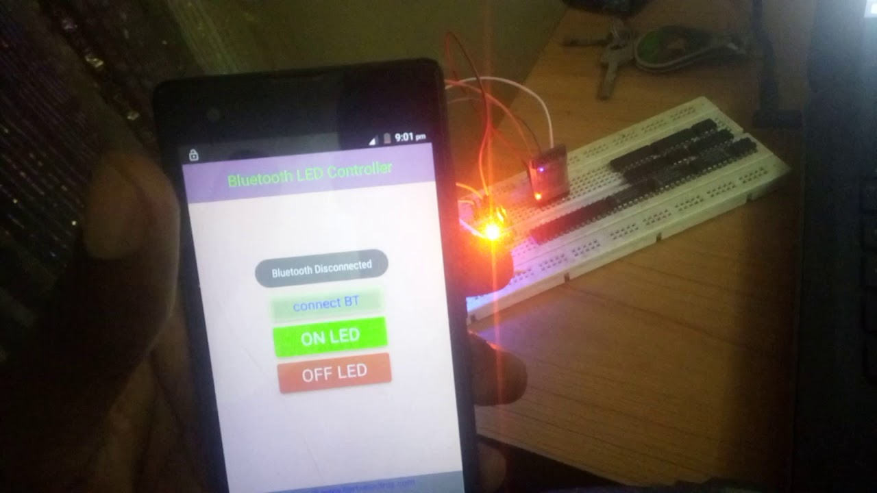 Bluetooth controlled LED light - HertzElectroz