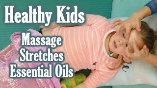 Download lagu Kids' Health Tips for Better Sleep & Immunity | Massage, Essential Oils, Stretches, Parenting Tips