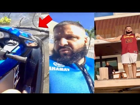 Dj Khaled SCARED AS HELL after Jet Ski Gets Stuck in TREE Pulls Up on Drake & Diddy! Mp3