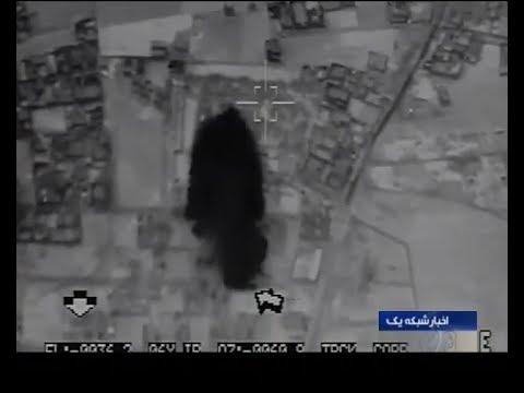 Iran IRGC fires six Zolfaqar MRV missiles to ISIS terrorists bases in Dayr al-Zawr Syria