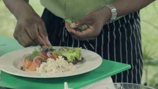 Smoked Salmon & Pasta Salad
