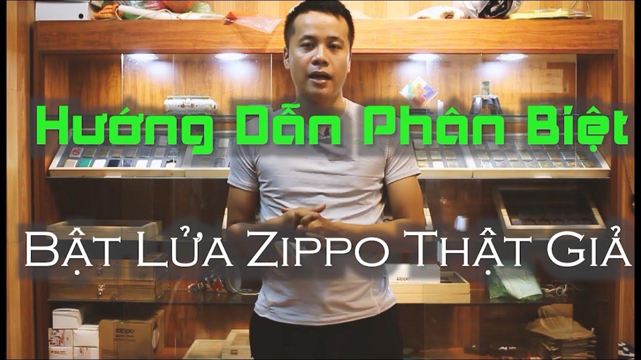 Zippo chính hãng I Phân Biệt Zippo Thật Giả Chi Tiết ( hotline : 039.44444.88 )