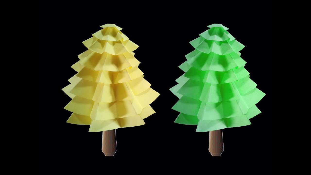 How to make paper christmas tree home decorating ideas for Paper christmas decorations to make at home