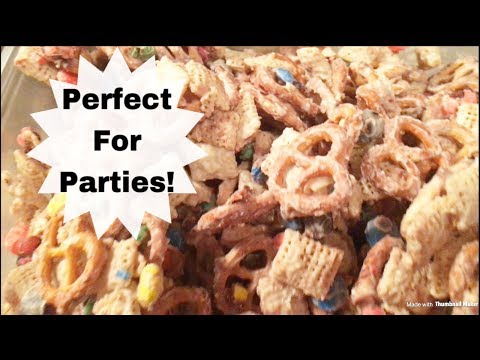 Sweet And Salty Snack Mix | Recipe