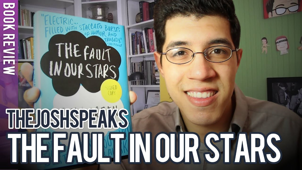 """BOOK REVIEW: """"The Fault in Our Stars"""" by John Green - YouTube"""