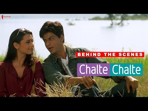 Behind The Scenes   Chalte Chalte   Rani Mukherji, Shah Rukh Khan   A Film By Aziz Mirza