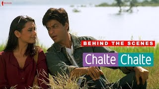 Behind The Scenes of Chalte Chalte | Rani Mukherji, Shah Rukh Khan | A Film By Aziz Mirza