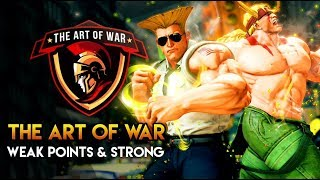 THE ART OF WAR: How it applies to fighting games - Chapter 6: Weak Points & Strong