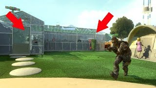 THEY WERE ALL HIDING INSIDE OF THE NUKETOWN GREENHOUSE!?!?!? (BLACK OPS 2 HIDE N