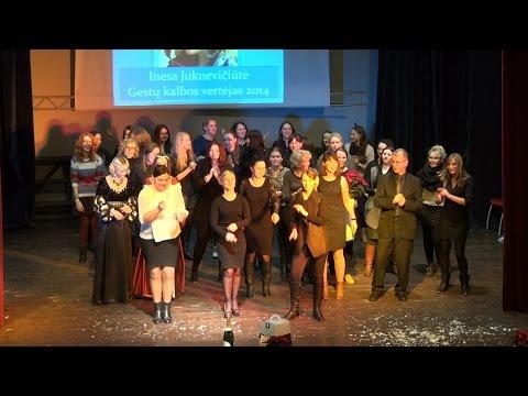 """Konkursas """"Gestų kalbos vertėjas 2014"""" (video)"""