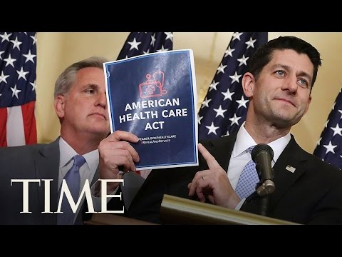 House Of Representatives Vote On Republican Healthcare Reform Bill | TIME