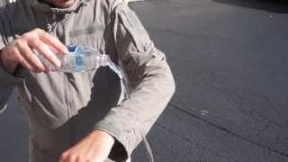 New Cordura Jacket Water Resistence Demo
