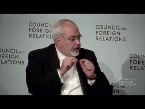 Dr. Zarif addresses in The Council on Foreign Relations (CFR)