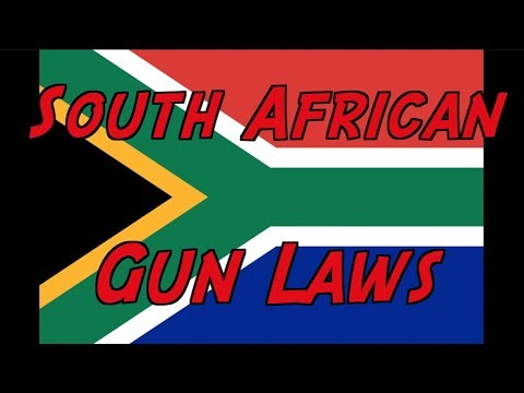 Overview of South African Gun Laws