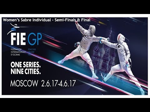 Women's Sabre Individual Moscow RUS 2017 - Finals