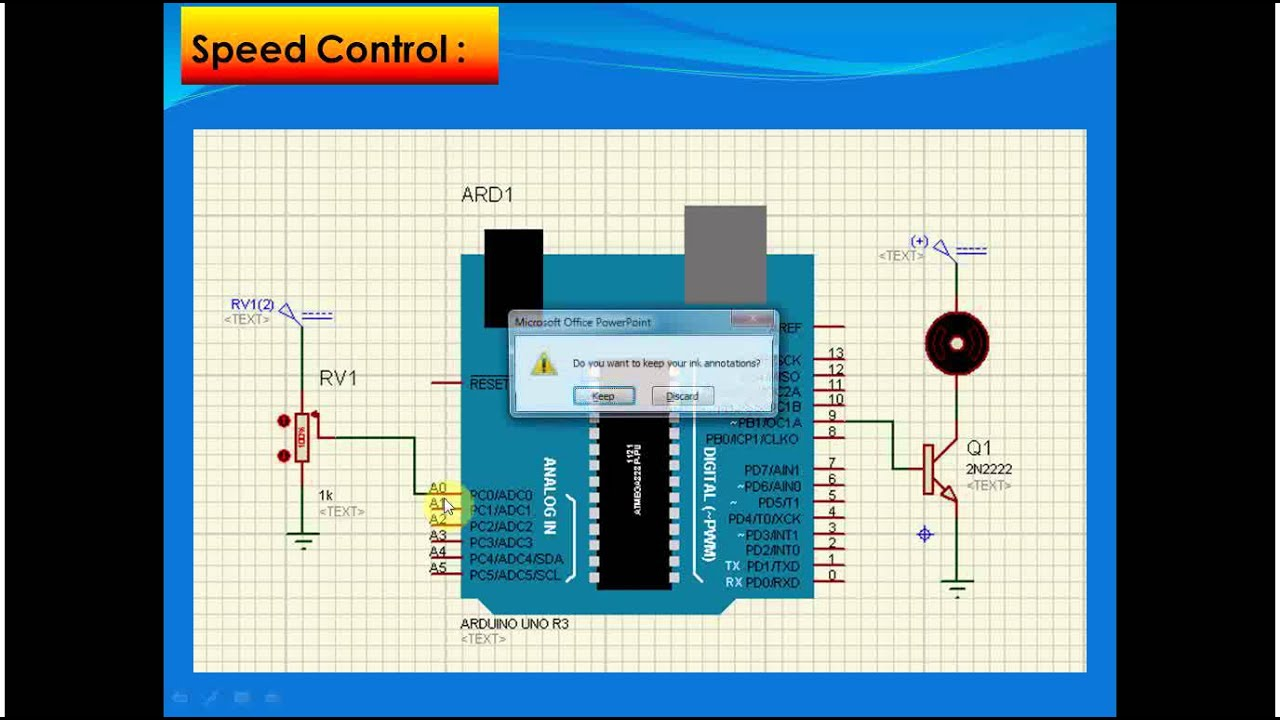 Lecture part speed control for dc motor using pwm and