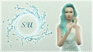 SU 💦 | Dört Element - The Sims 4| Create A Sim [TÜRKÇE]