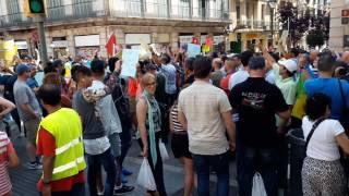 Manifestación Rif Barcelona