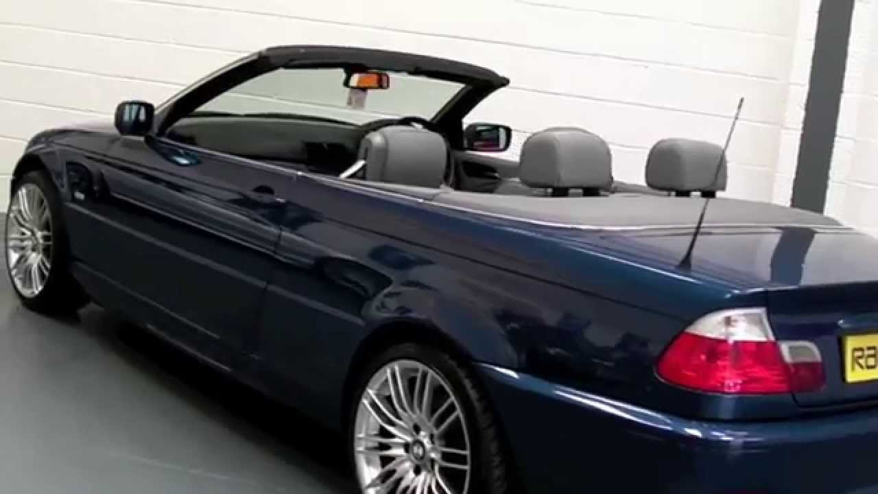 BMW 330CI CONVERTIBLE OFFERED FOR SALE AT PERFORMANCE DIRECT