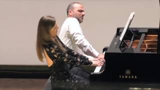 Rachmaninov:Six Morceaux op.11- Russian theme/ Sara Costa & Fabiano Casanova Piano Duo