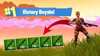 ALL PUMP! 5 Pump Shotgun Challenge! (Fortnite Battle Royale)