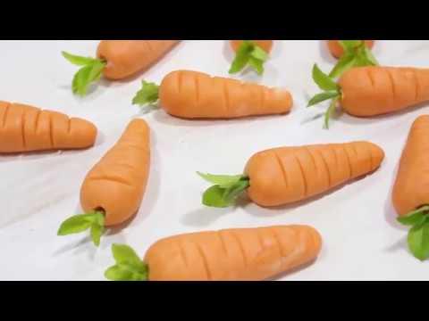 Mazapan Figuras De Zanahoria Youtube 50 gramos de cebolla picada 2 naranjas en trocitos 8 aceitunas aderezo con jugo de limn, 1 cucharada de aceite de olivas, sal y pimienta blanca. mazapan figuras de zanahoria