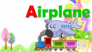 Learning abc alphabet train for kids | learn english alphabets video for toddlers children babies