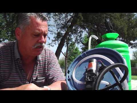 Devise Your Own 12-Volt Lawn Sprayer