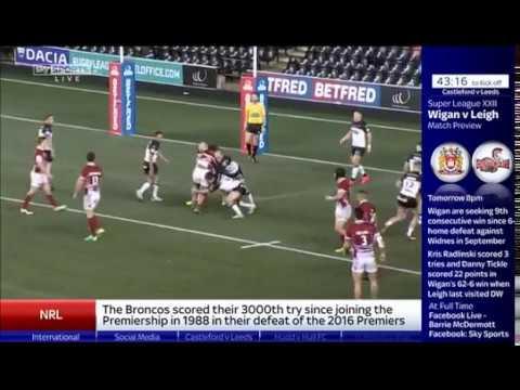 2017 round 3 Castleford v Leeds