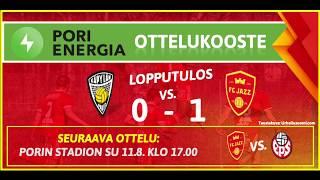 Pori Energia ottelukooste: KäPa - FC Jazz 3.8.2019