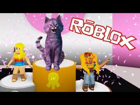 Смотреть ПОКАЗ МОД В РОБЛОКС Я ТОЛСТАЯ?! Fashion Frenzy Famous roblox КОШКА ЛАНА вип модель онлайн