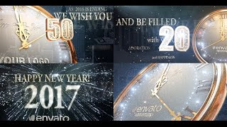 2017 New Year Countdown After Effects Template Openers
