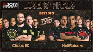 Chaos EC vs HellRaisers Game 1 - Dota Summit 11: Losers' Finals