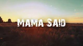 Metallica - Mama Said [Full HD] [Lyrics]