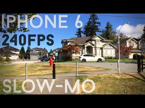 Iphone 6 slow mo 240fps ultimate video test vs iphone 5s 120fps